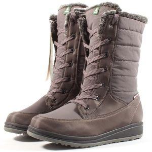 Kamik Bailee Waterproof Lace Up Winter Snow Boots